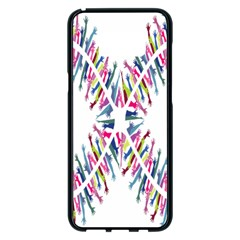Free Symbol Hands Samsung Galaxy S8 Plus Black Seamless Case