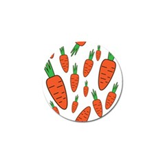 Fruit Vegetable Carrots Golf Ball Marker (10 Pack) by Mariart