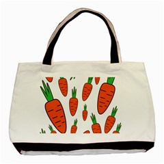 Fruit Vegetable Carrots Basic Tote Bag by Mariart