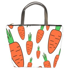 Fruit Vegetable Carrots Bucket Bags by Mariart