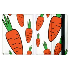 Fruit Vegetable Carrots Apple Ipad 2 Flip Case by Mariart