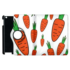 Fruit Vegetable Carrots Apple Ipad 3/4 Flip 360 Case by Mariart