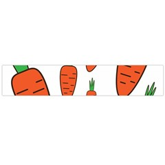 Fruit Vegetable Carrots Flano Scarf (large) by Mariart