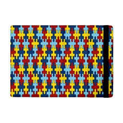 Fuzzle Red Blue Yellow Colorful Ipad Mini 2 Flip Cases by Mariart