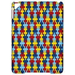 Fuzzle Red Blue Yellow Colorful Apple Ipad Pro 9 7   Hardshell Case by Mariart