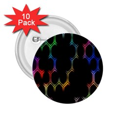 Grid Light Colorful Bright Ultra 2 25  Buttons (10 Pack)