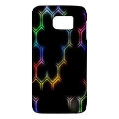 Grid Light Colorful Bright Ultra Galaxy S6 by Mariart