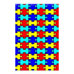 Game Puzzle Shower Curtain 48  X 72  (small)  by Mariart