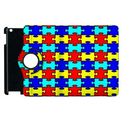 Game Puzzle Apple Ipad 3/4 Flip 360 Case by Mariart