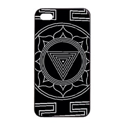 Kali Yantra Inverted Apple Iphone 4/4s Seamless Case (black) by Mariart