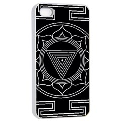 Kali Yantra Inverted Apple Iphone 4/4s Seamless Case (white) by Mariart
