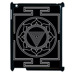 Kali Yantra Inverted Apple Ipad 2 Case (black) by Mariart