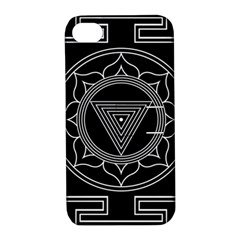 Kali Yantra Inverted Apple Iphone 4/4s Hardshell Case With Stand