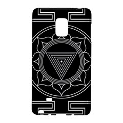 Kali Yantra Inverted Galaxy Note Edge by Mariart