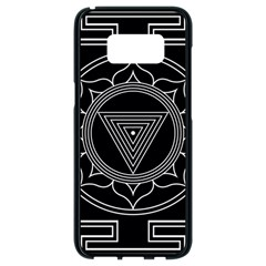 Kali Yantra Inverted Samsung Galaxy S8 Black Seamless Case