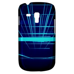 Grid Structure Blue Line Galaxy S3 Mini by Mariart
