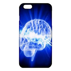 Lightning Brain Blue Iphone 6 Plus/6s Plus Tpu Case by Mariart