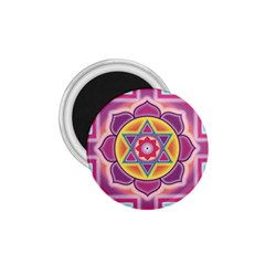 Kali Yantra Inverted Rainbow 1 75  Magnets by Mariart