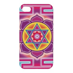 Kali Yantra Inverted Rainbow Apple Iphone 4/4s Hardshell Case by Mariart