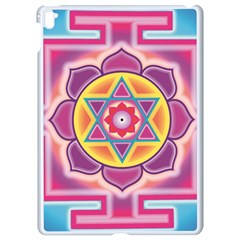Kali Yantra Inverted Rainbow Apple Ipad Pro 9 7   White Seamless Case by Mariart