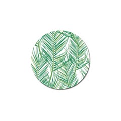 Jungle Fever Green Leaves Golf Ball Marker (4 Pack) by Mariart