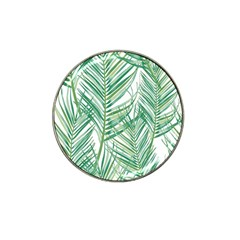 Jungle Fever Green Leaves Hat Clip Ball Marker (10 Pack) by Mariart