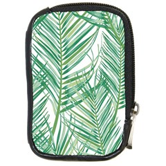 Jungle Fever Green Leaves Compact Camera Cases by Mariart