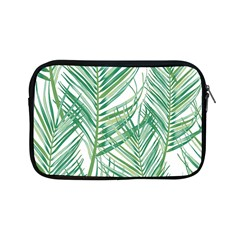 Jungle Fever Green Leaves Apple Ipad Mini Zipper Cases