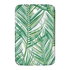 Jungle Fever Green Leaves Samsung Galaxy Note 8 0 N5100 Hardshell Case  by Mariart