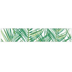 Jungle Fever Green Leaves Flano Scarf (large) by Mariart