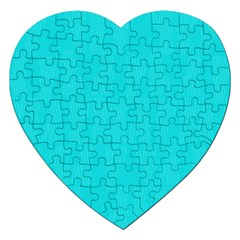 Line Blue Jigsaw Puzzle (heart)