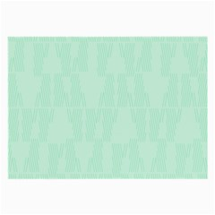 Line Blue Chevron Large Glasses Cloth (2-side) by Mariart