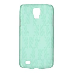 Line Blue Chevron Galaxy S4 Active by Mariart