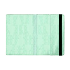 Line Blue Chevron Ipad Mini 2 Flip Cases by Mariart