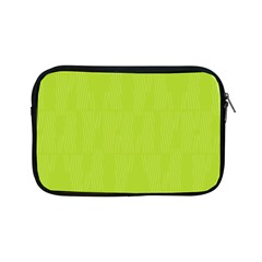 Line Green Apple Ipad Mini Zipper Cases by Mariart