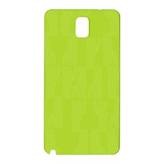 Line Green Samsung Galaxy Note 3 N9005 Hardshell Back Case by Mariart