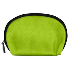 Line Green Accessory Pouches (large)  by Mariart