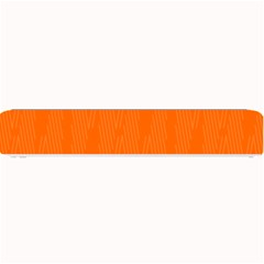 Line Orange Small Bar Mats by Mariart