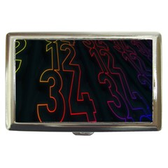 Neon Number Cigarette Money Cases by Mariart