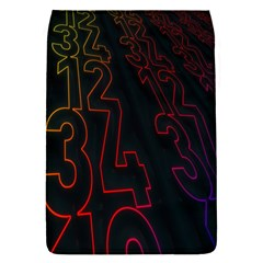 Neon Number Flap Covers (s)  by Mariart