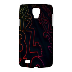 Neon Number Galaxy S4 Active by Mariart