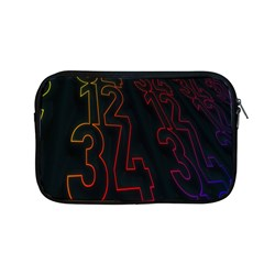 Neon Number Apple Macbook Pro 13  Zipper Case by Mariart