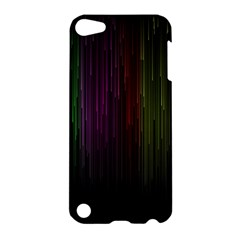 Line Rain Rainbow Light Stripes Lines Flow Apple Ipod Touch 5 Hardshell Case by Mariart