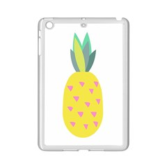 Pineapple Fruite Yellow Triangle Pink Ipad Mini 2 Enamel Coated Cases by Mariart