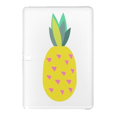 Pineapple Fruite Yellow Triangle Pink Samsung Galaxy Tab Pro 12 2 Hardshell Case by Mariart