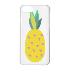 Pineapple Fruite Yellow Triangle Pink Apple Iphone 7 Hardshell Case by Mariart