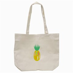 Pineapple Fruite Yellow Triangle Pink White Tote Bag (cream) by Mariart