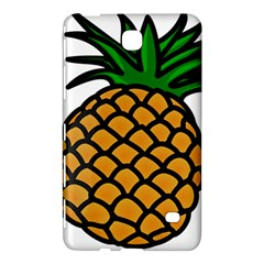 Pineapple Fruite Yellow Green Orange Samsung Galaxy Tab 4 (7 ) Hardshell Case  by Mariart