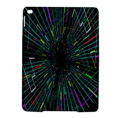 Colorful Geometric Electrical Line Block Grid Zooming Movement Ipad Air 2 Hardshell Cases by Mariart