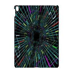 Colorful Geometric Electrical Line Block Grid Zooming Movement Apple Ipad Pro 10 5   Hardshell Case by Mariart